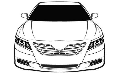 40012384-car-front-view-isolated-Stock-Vector-front